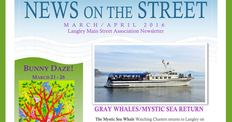 March/April 2016 Newsletter