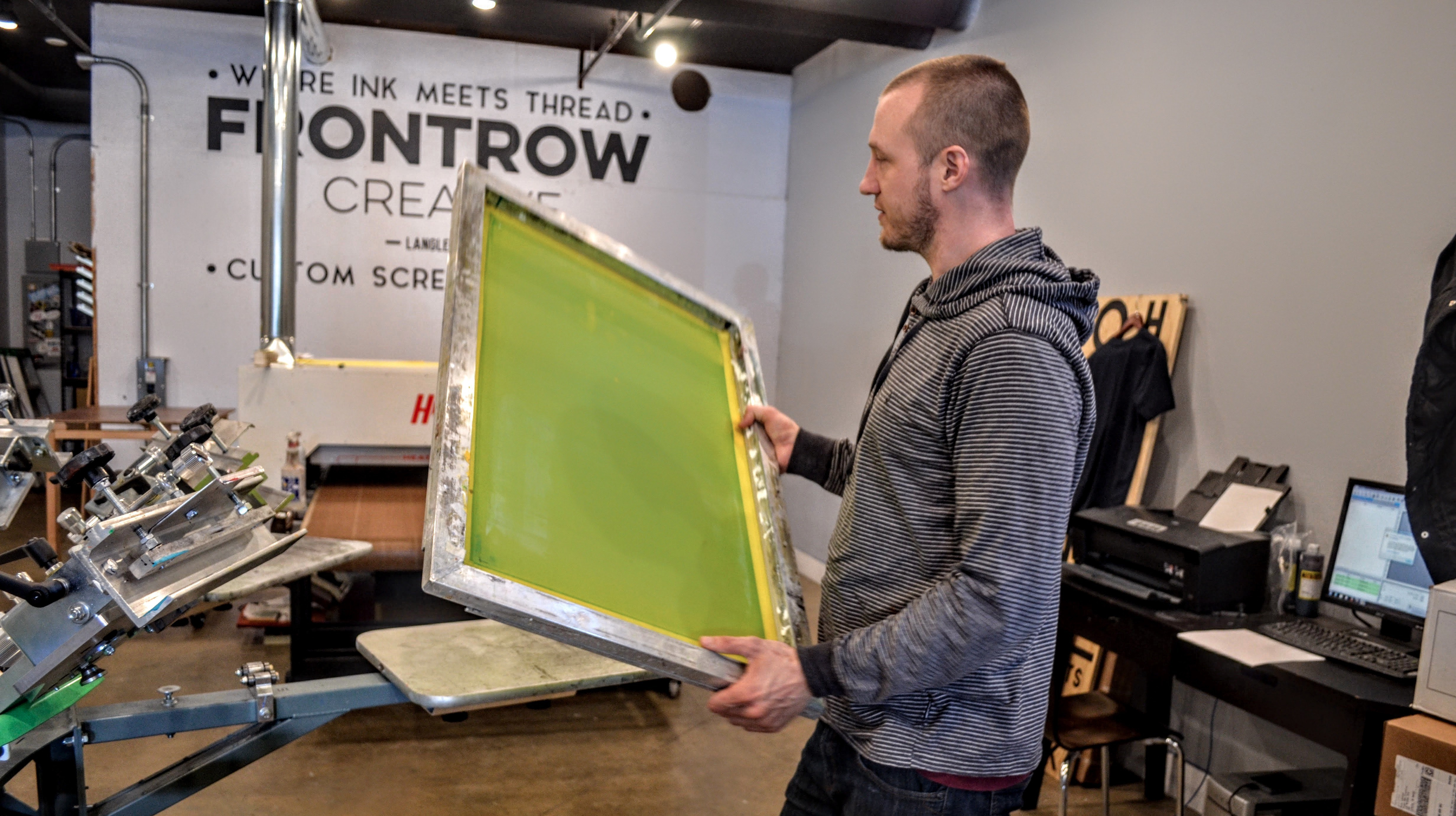 Langley Meets Tech: Frontrow Creative