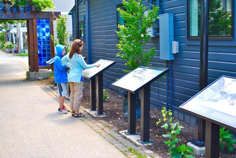 Frick Lane History Walk & Alley Upgrades